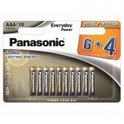 Panasonic Everyday Power AAA patarei 6+4tk
